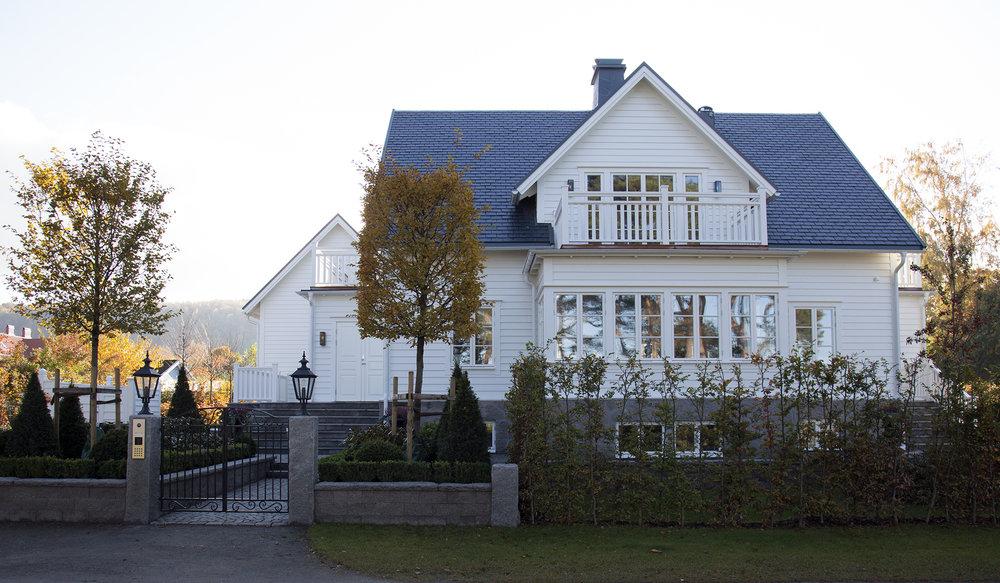 Villa, Malen