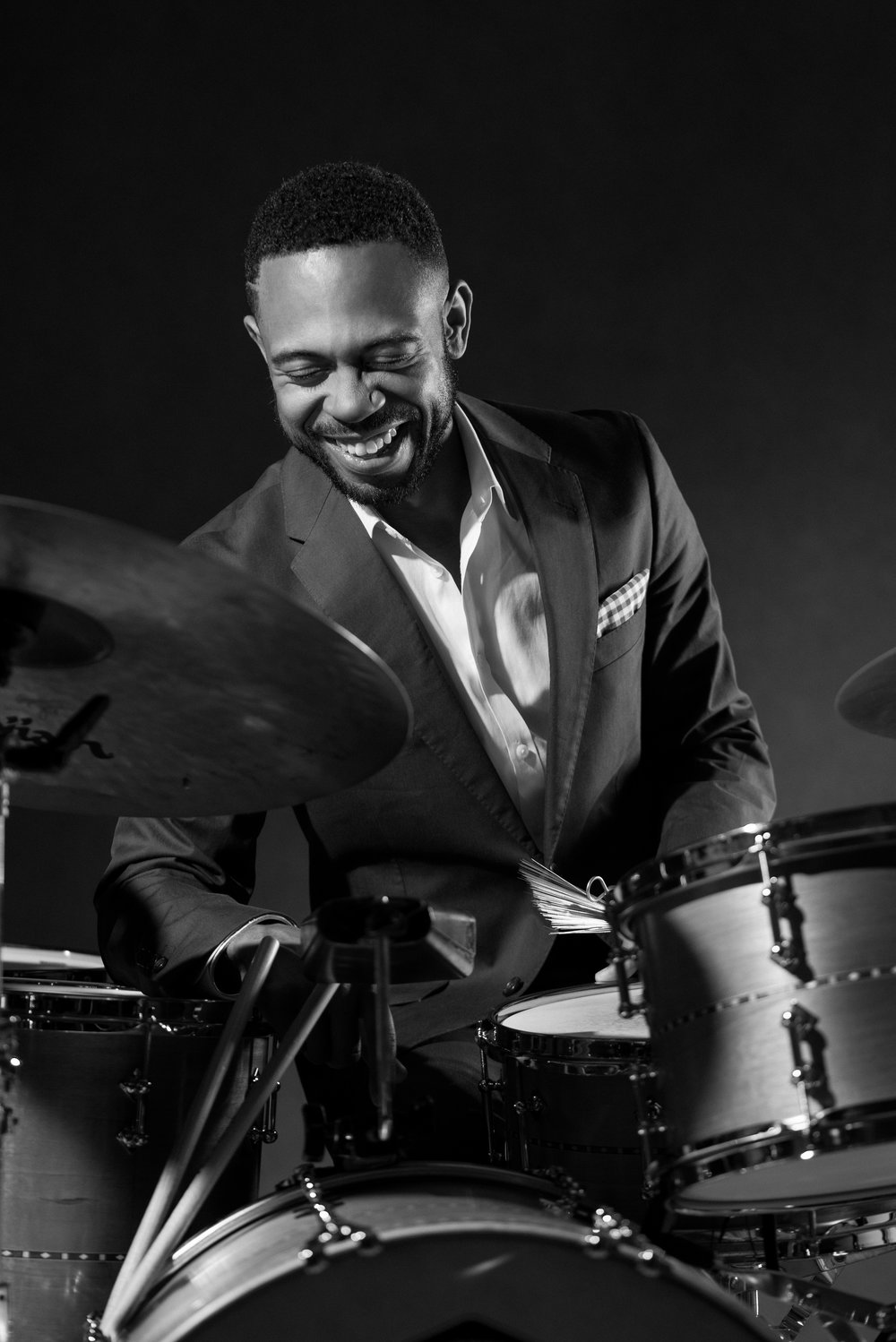 """The fabulous drummer Jerome Jennings, eliciting sophisticated joy."" - London Jazz"