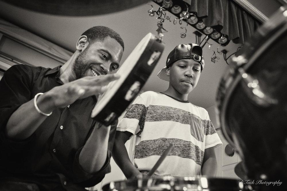 Duet with kid on Drums 2015.jpg