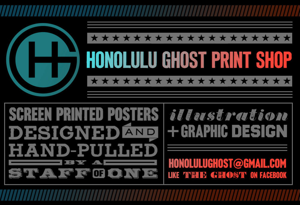 Honolulu Ghost Print Shop