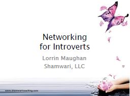 Download Lorrin's Networking for Introverts PDF File