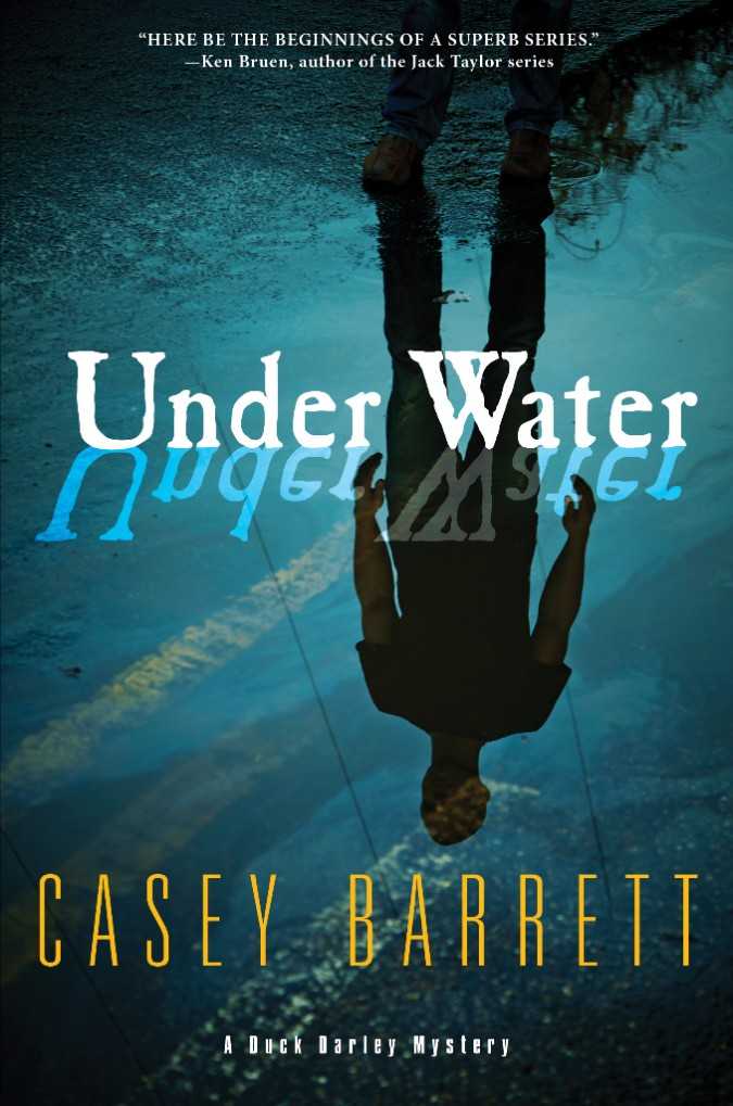 casey barrett, under water, duck darley, book, new york city