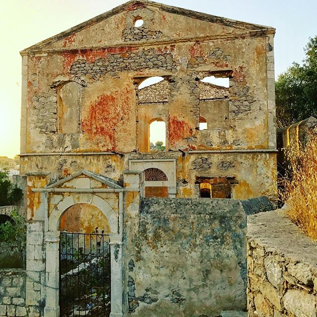 Old ruins of Symi, Greece