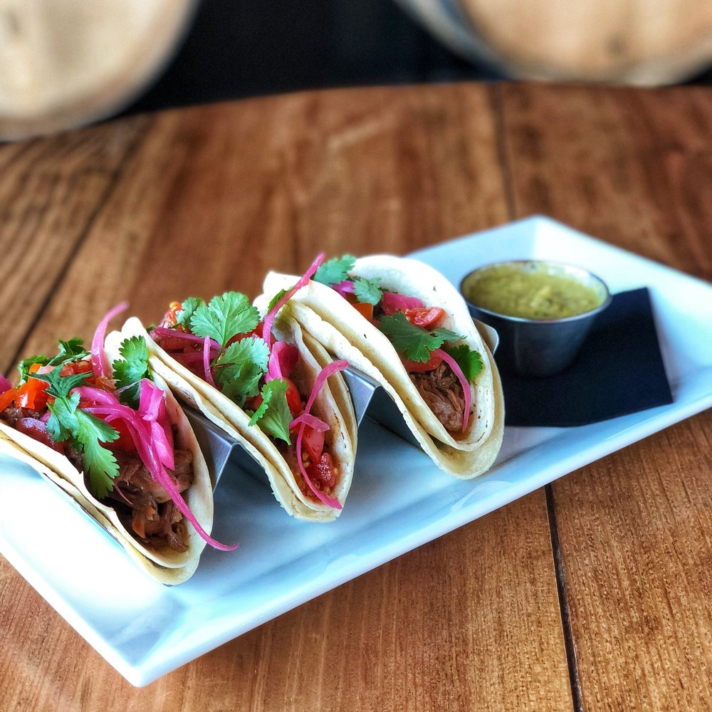 Beer Braised Brisket Taco