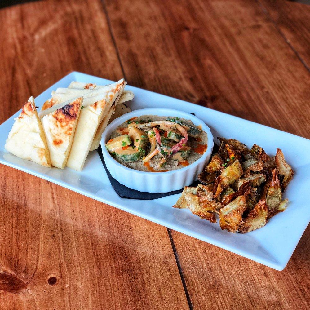 Roasted Artichokes & Eggplant Dip
