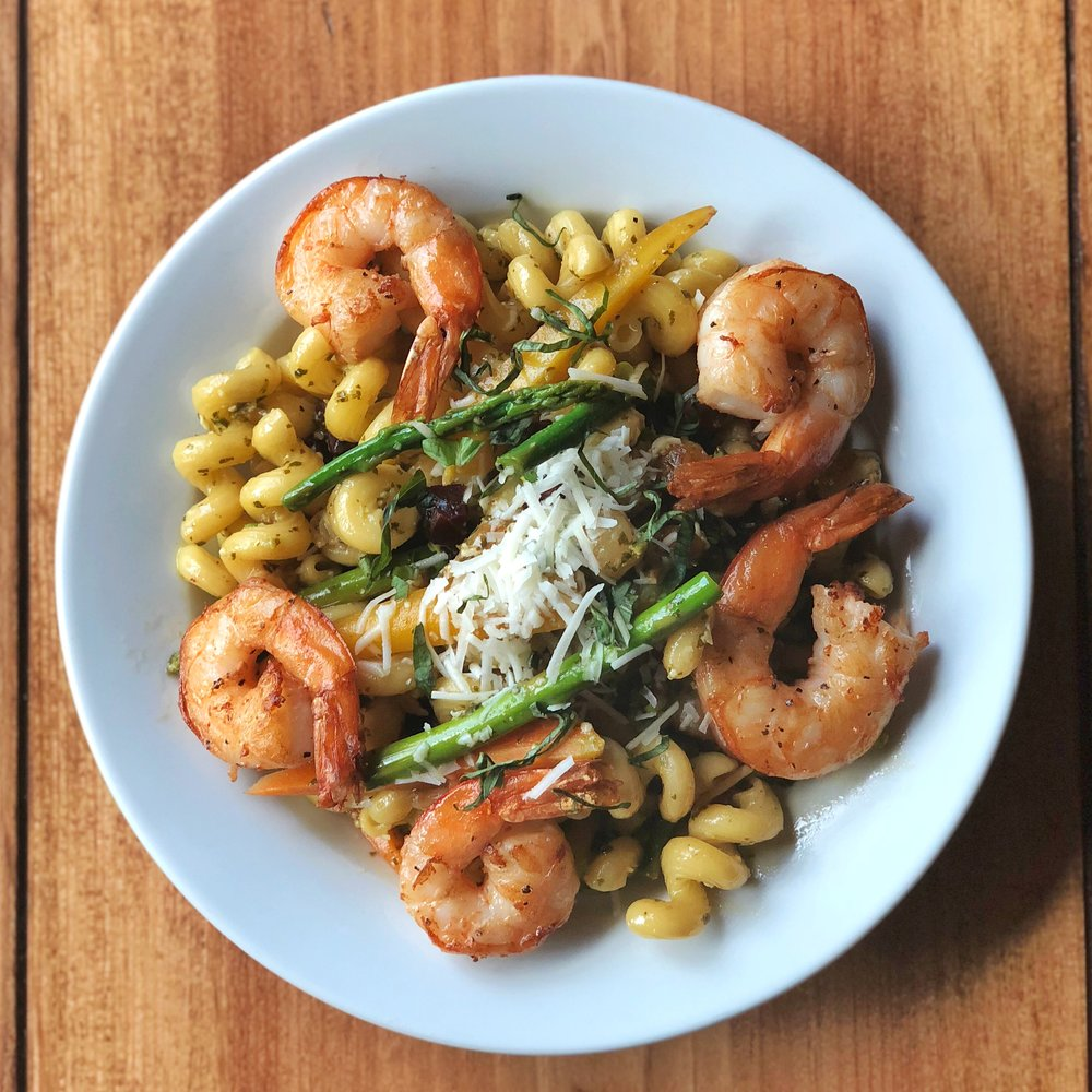 Shrimp Cavatappi