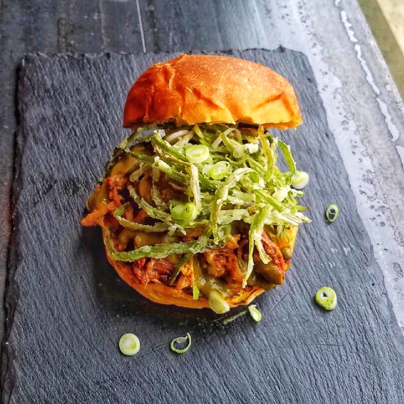 Whey Braised Pork Sandwich