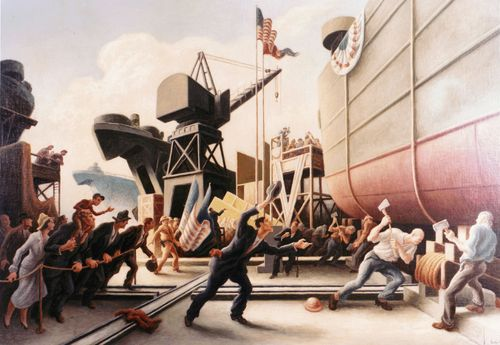 Thomas_Hart_Benton_-_Cut_the_Line