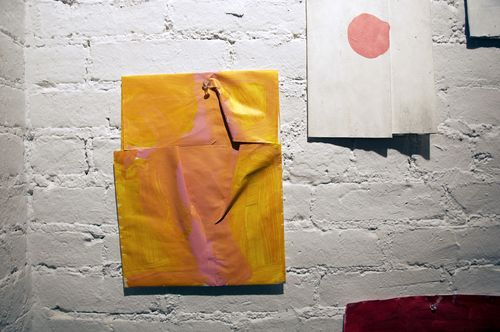 Folded and Dot Paintings- Taller
