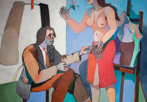 Jean-Helion-LAbstraction-Le-Peintre-et-le-Modele-1979-1980-p480