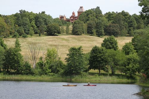 View of the Main House from Across the Lake photo by Melanie Hasbrook - Copy
