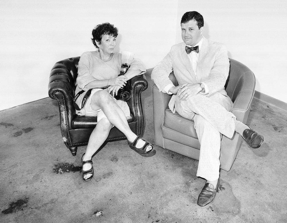 """Bushwick Chronicle – Meryl Meisler and James Panero"" Photography © Meryl Meisler 2016"