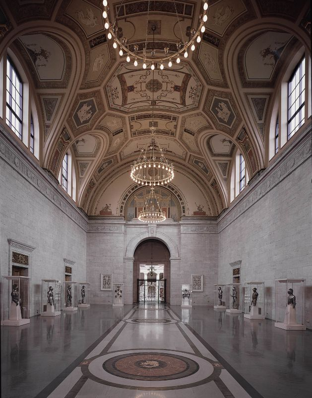 The Great Hall of the Detroit Institute of Arts