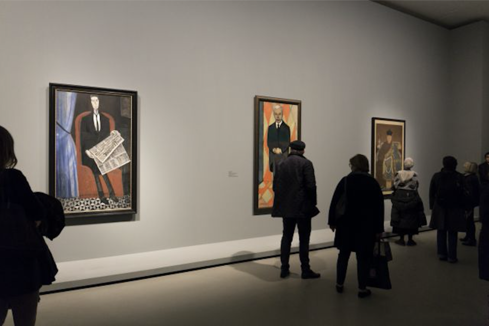 """Icons of Modern Art: The Shchukin Collection"" at the Fondation Louis Vuitton, Paris."