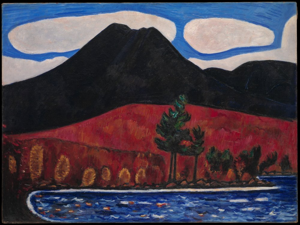 Marsden Hartley, Mt. Katahdin, Maine, No. 2