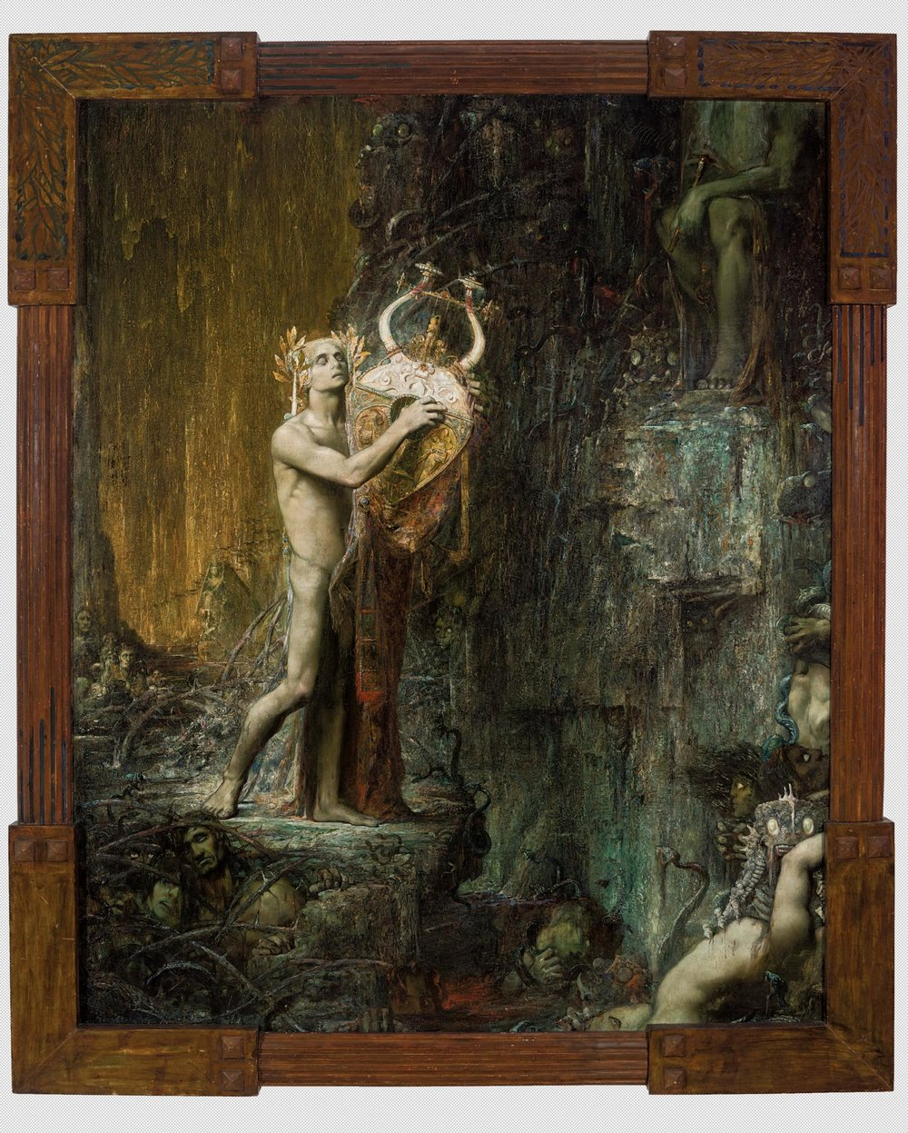 Pierre Amédée Marcel-Béronneau's 'Orpheus in Hades (Orphée)' (1897) PHOTO: CLAUDE ALMODOVAR/COLLECTION DU MUSEE DES BEAUX-ARTS, MARSEILLE