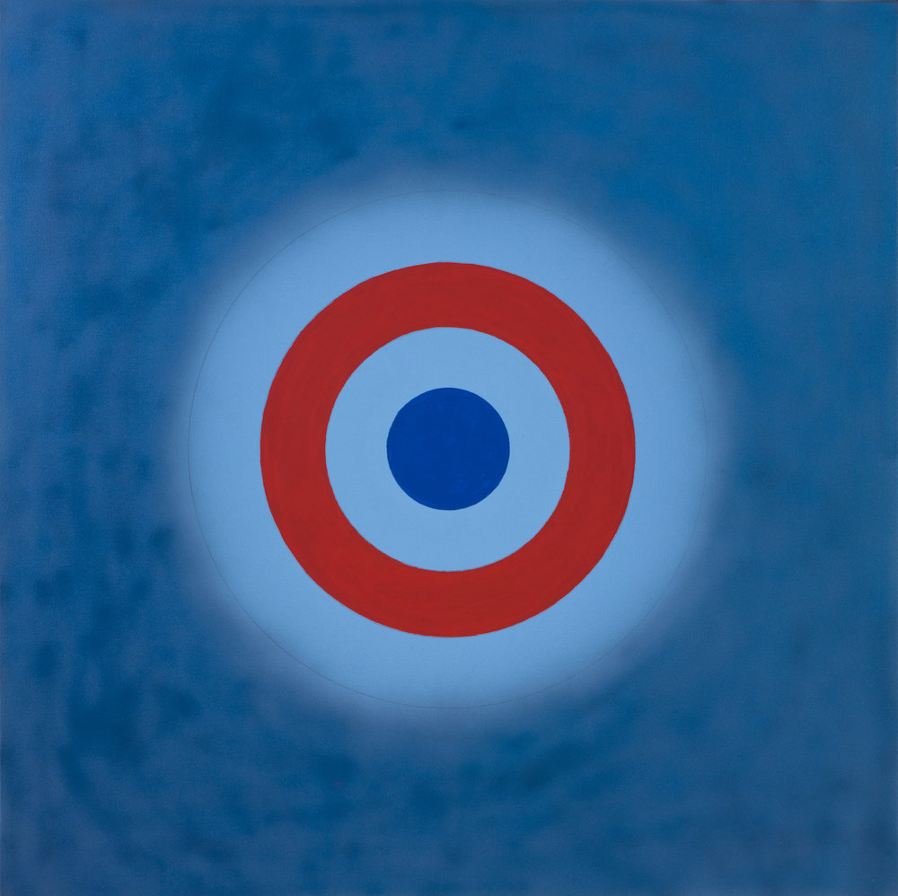 Kenneth Noland , Magic Theatre,  2000 ,  Acrylic on canvas ,  Yares Art