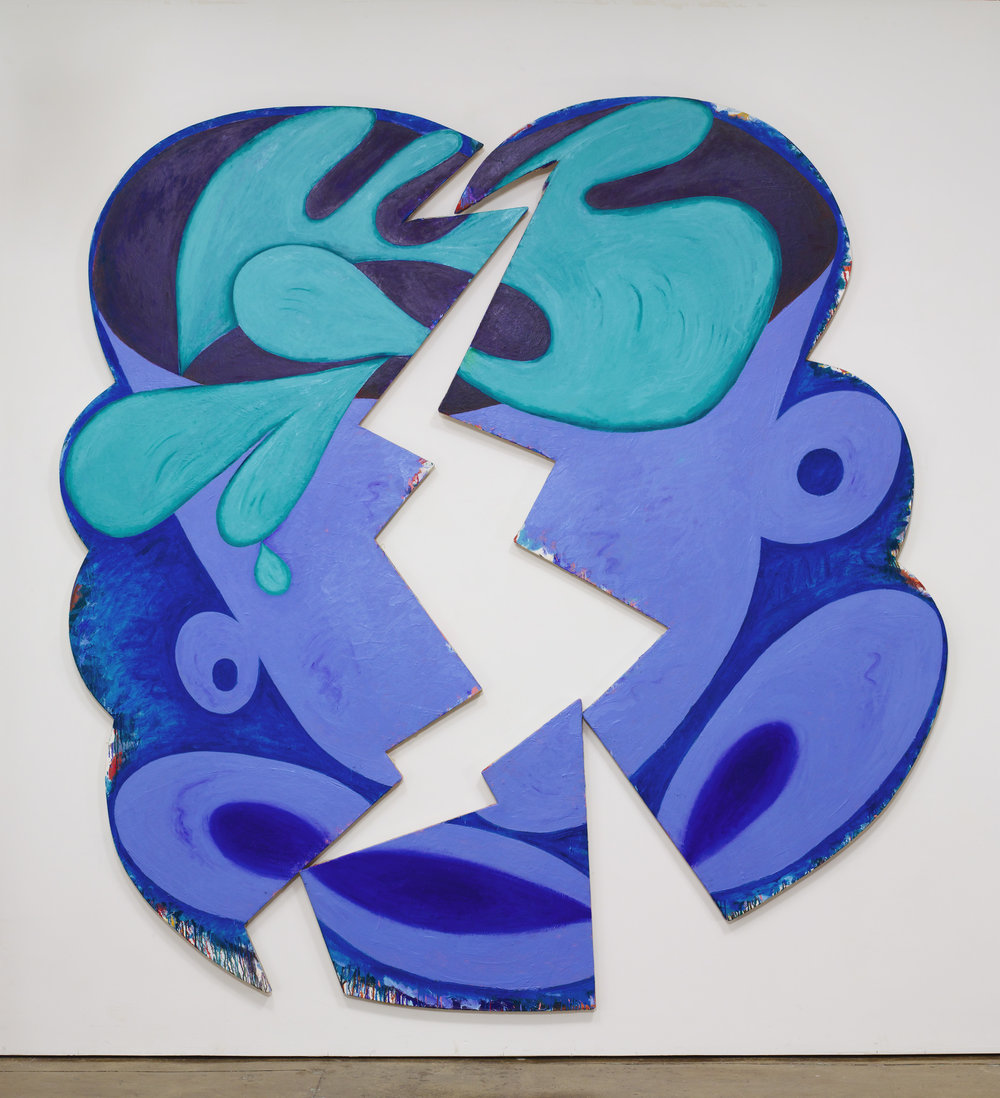 Elizabeth Murray , Wake Up,  1981 ,  Oil on canvas , Pace Gallery.  Photo: Ellen Labenski.