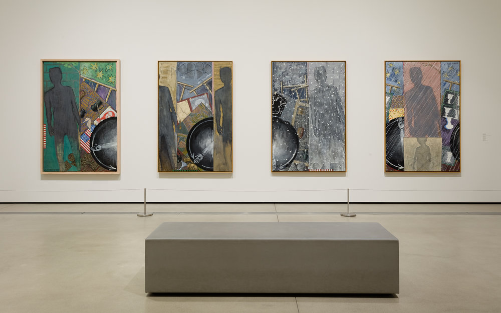 "Installation view, ""Jasper Johns: 'Something Resembling Truth'."" Photo: Pablo Enriquez"