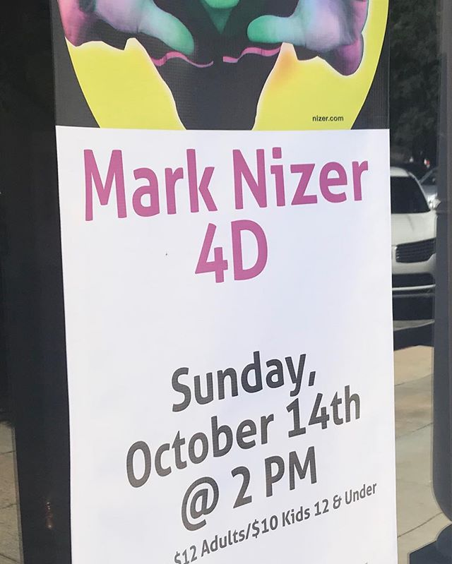 It's going to be a fantastic 4D show this Sunday @crowleyopera with @marknizer 2PM.  Great for all ages!  Adults $12. Kids 12 and under $10.  Special treats for all kids after the show.  Thanks to Ted and Judy Carmichael & Family for sponsoring the Family Series.  www.thegrandoperahouse.org