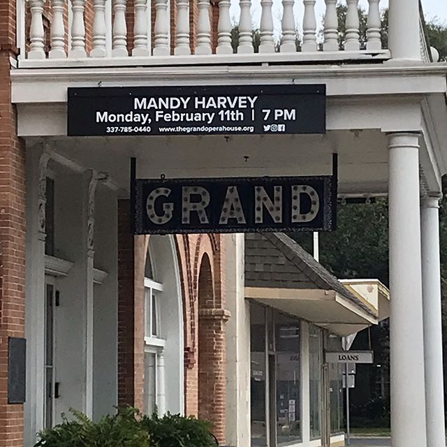 @mandyharvey TONIGHT @crowleyopera 7pm.  Tickets still available.