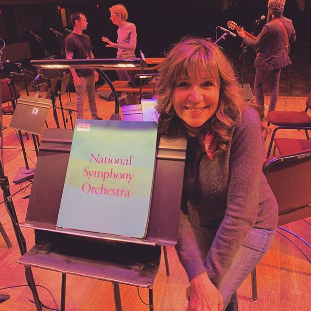 #nationalsymphonyorchestra #rehearsal is about to start. Can't wait to hear my music with this symphony!