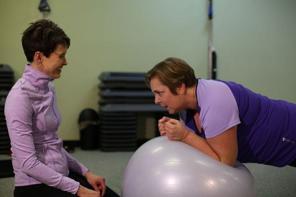 Training with Shelley at ProActive Fitness
