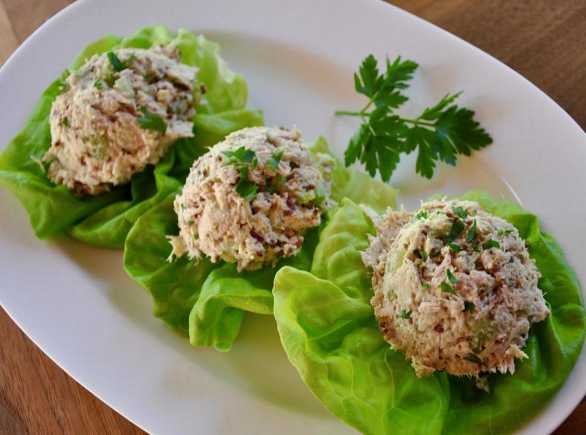 hummas tuna lettuce boats.jpeg