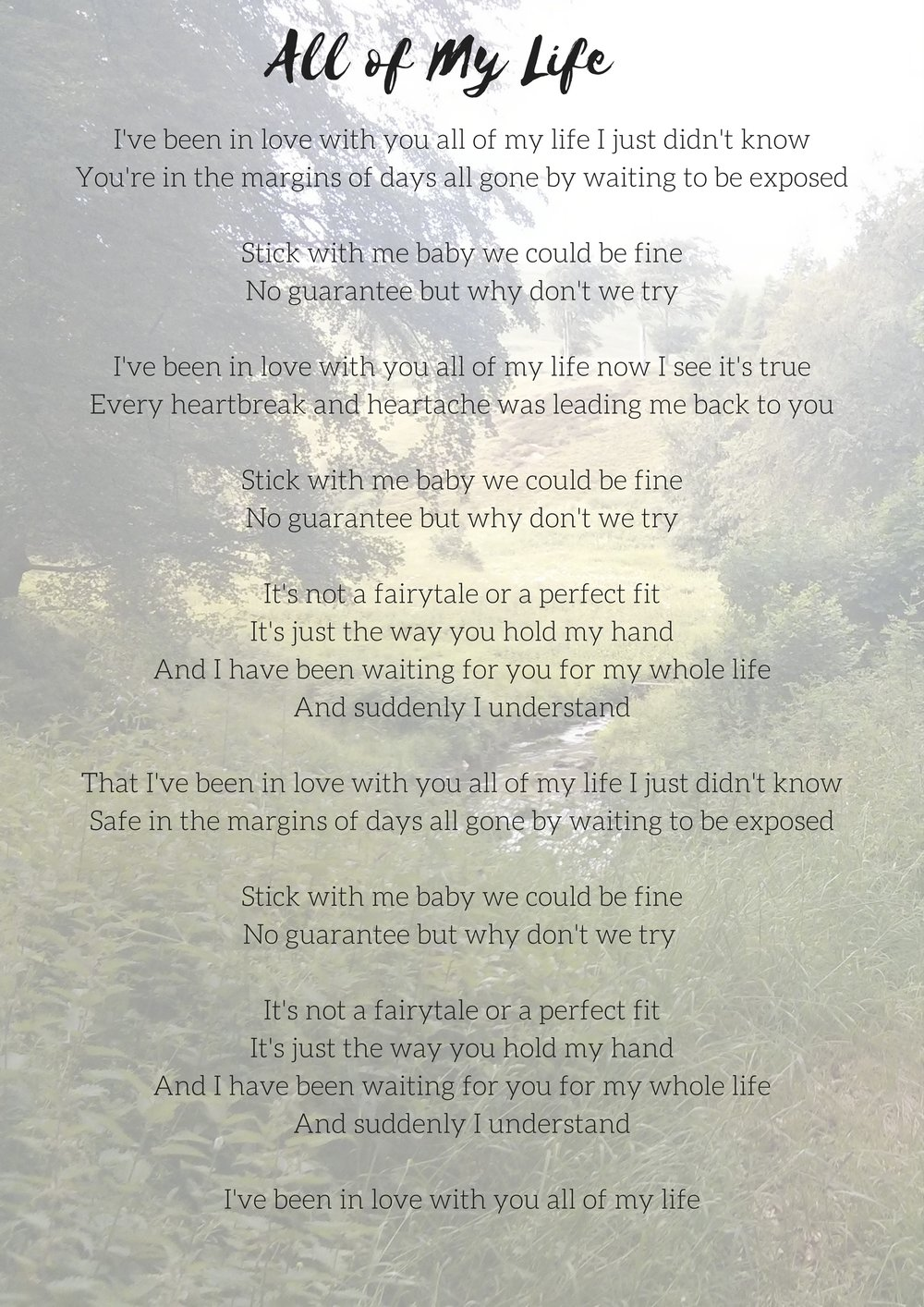 Lyric Blog Danielle Knibbe