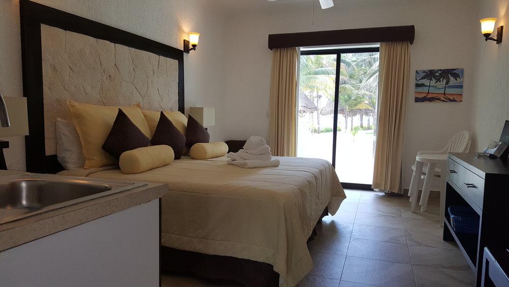 Oceanfront room - Hotel Akumal Caribe