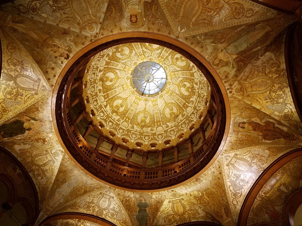 Dome in Flagler College/Museum