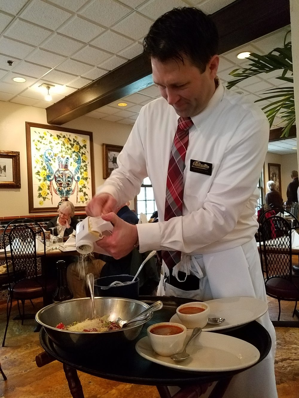 Tableside Service at Columbia Restaurant