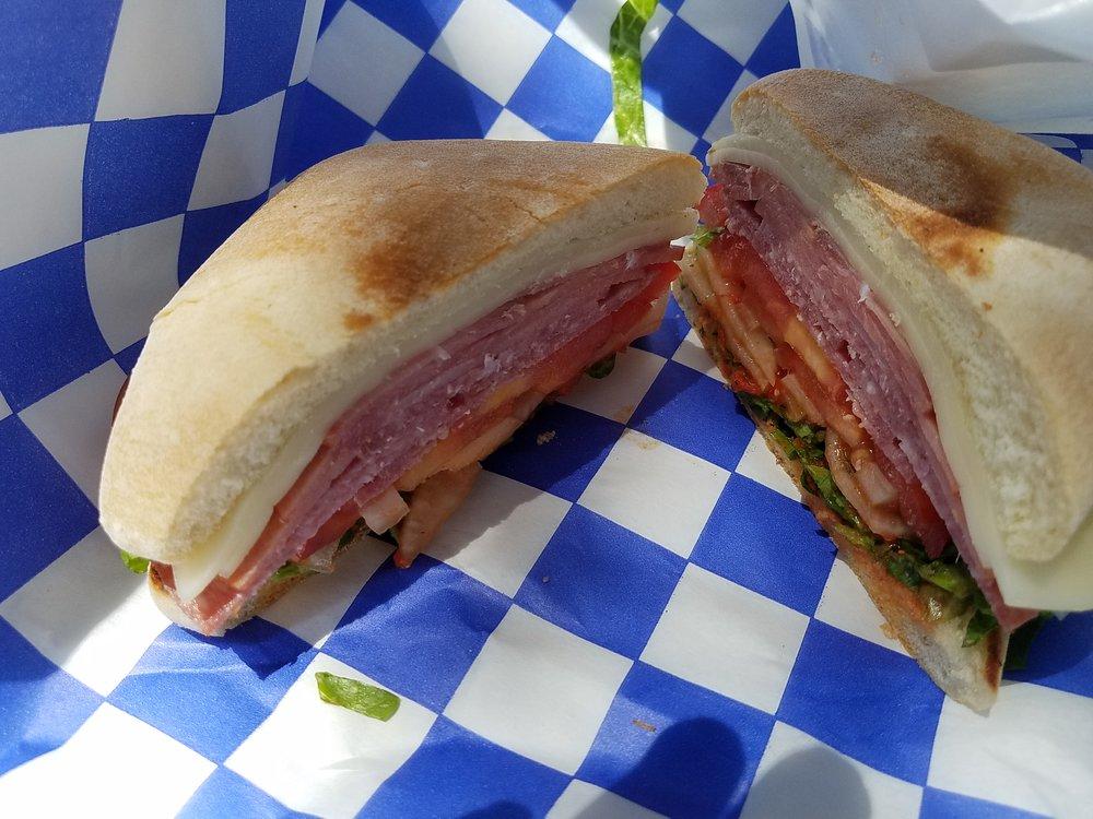 Boats & Hoagies Italian sandwich