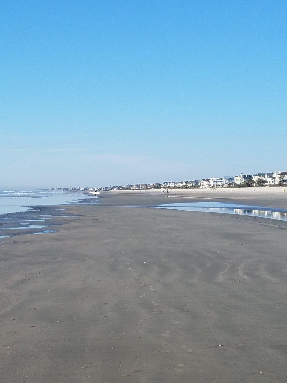Low tide on Sullivans Island