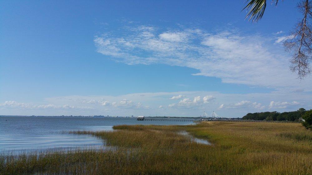 Shem Creek enters Charleston Harbor
