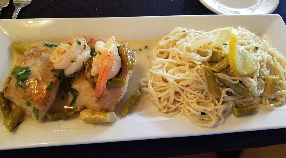 Mahi and Shrimp Special