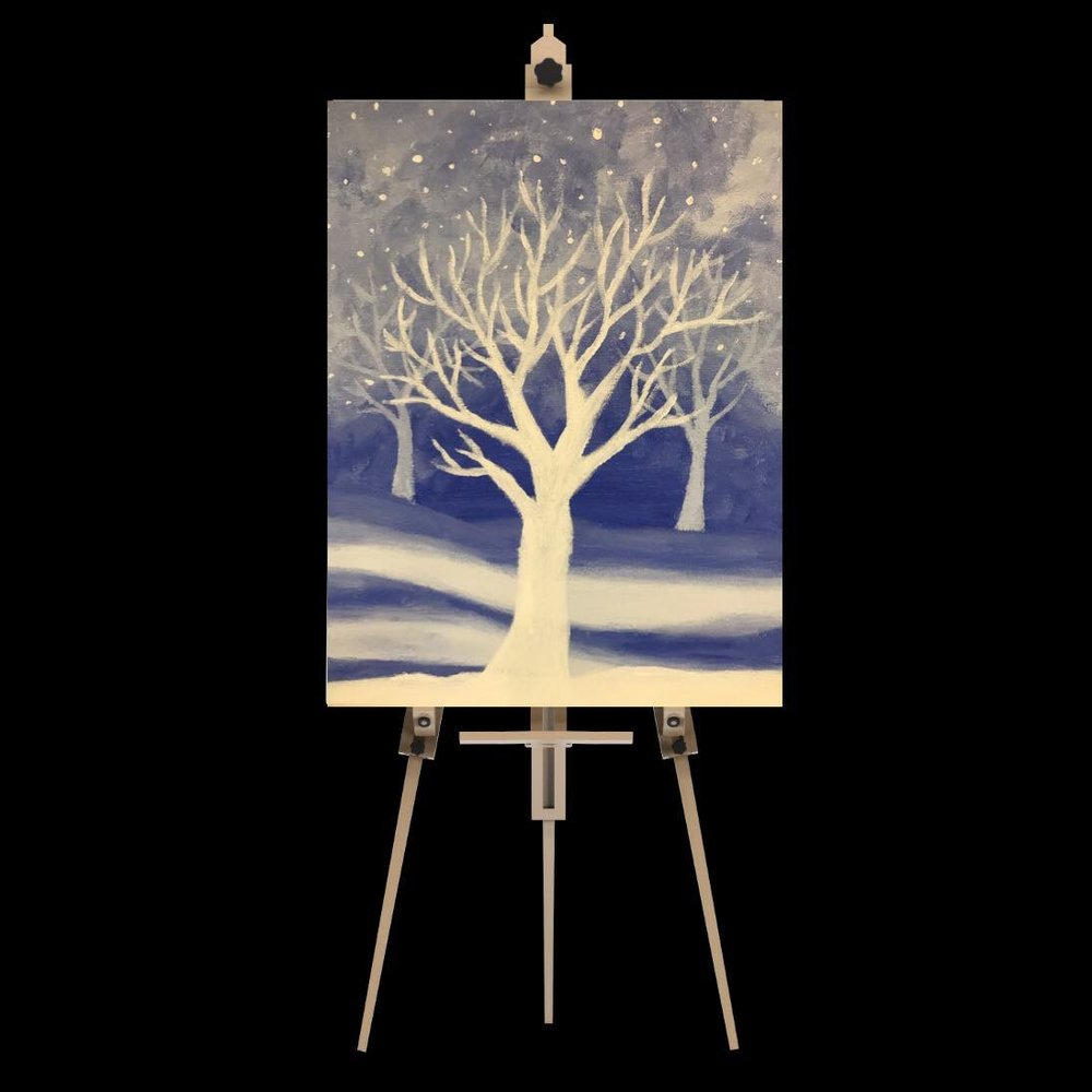 "Sunday December 16th 5:00pm-7:30pm ""White Silhouette"""