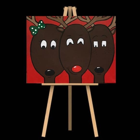 "Monday December 17th 7:00pm-9:30pm ""Reindeer"""