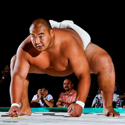 BYAMBA   HEIGHT: 6'1  WEIGHT: 370LBS  FOUR TIME WORLD SUMO CHAMPION.
