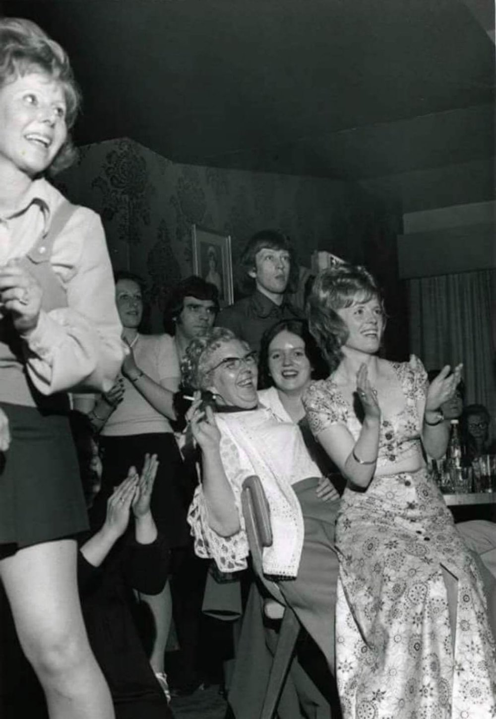 - These ladies were really enjoying this Billy Fury show in the 1970s, but the men appear to have a different opinion!