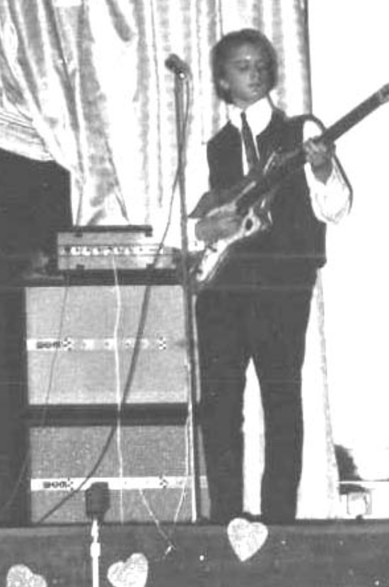 - New Years Eve 1964 at The Silver Blades Ice Rink in Birmingham, supporting Herman's Hermits.Wow! I'd got a massive WEM bass stack and a Rosetti Bass 9 which cost 34 guineas borrowed from my Dad. Cool.