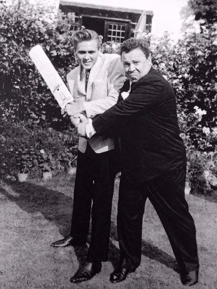Billy with Harry Secombe