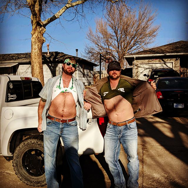 Belly shirts. Not just for basics. #stpatricksday #earnyourbeads