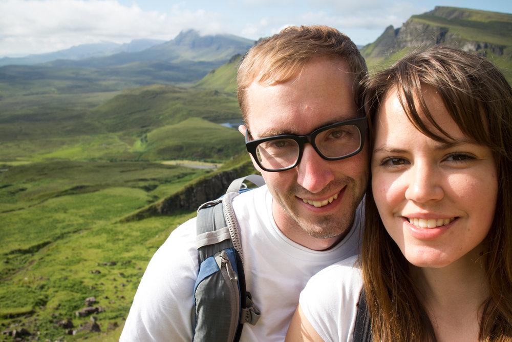 Hiking in the Isle of Skye