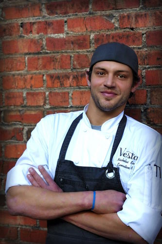 Vesta's new Executive Chef, Nicholas Kayser