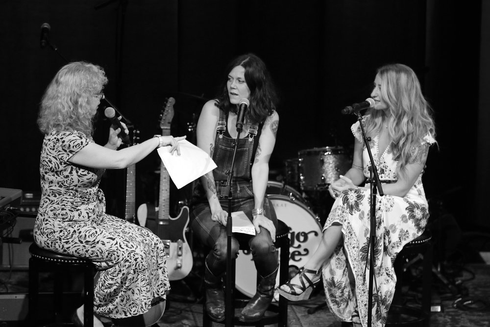 Ann Powers, Lilly Hiatt, Margo Price, by Chad Cochran