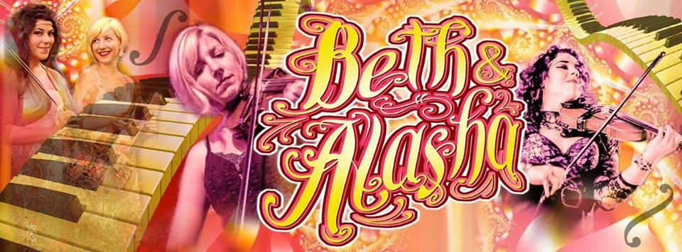 Beth and Alasha, banner by  Chris Woodall .
