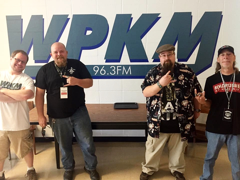 The crew at  WPKM The Beet  are always ready ready to support our local music scene. Photo supplied by  Aaron Crites .