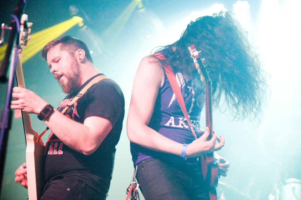 Parkersburg's own sludge metal band  Horseburner  is headed to Athens this weekend. Photo by  Michelle Waters .