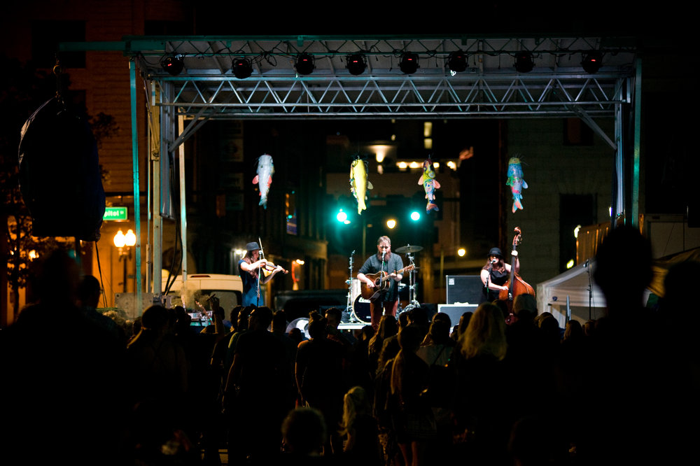 Kent, Ohio's  David Mayfield Parade  Headlined FestivALT, part of the  FestivALL  Preview Weekend. City streets were closed down and the arts take over. Photos by  Michelle Waters .